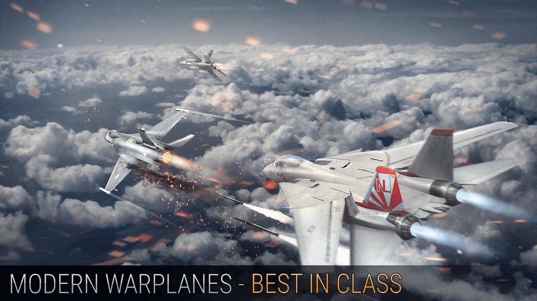 Modern Warplanes APK MOD Mísseis Infinitos 2021 v 1.17.3