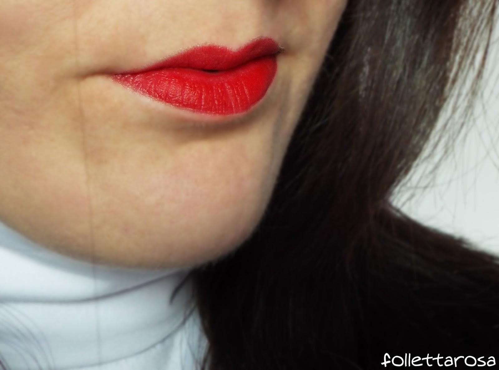 mac ruby woo labbra