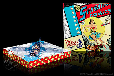 San Diego Comic-Con 2016 Mattel Exclusive DC COMICS MULTIVERSE WONDER WOMAN FIGURE + INVISIBLE JET