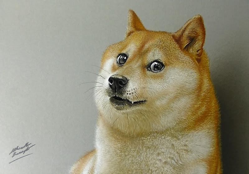 Doge meme painting - photo#25