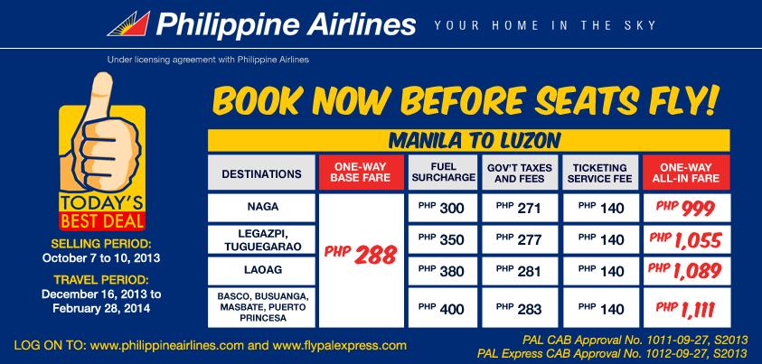 Philippine Airlines Promo