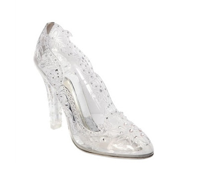 Dolce and Gabbana Cinderella Swarovski Pumps