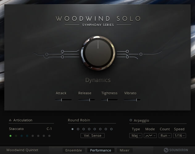 Native Instruments - Symphony Series Woodwind Solo KONTAKT Library