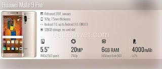 10. Huawei Mate 9 Pro