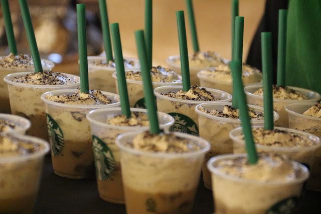 Vanilla Coffee dan Coffee Puding ala Starbuck