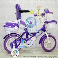 Sepeda Anak Nachita Sport Sandaran 12 Inci