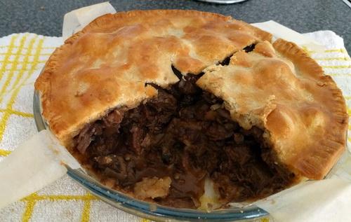 Geoff's Baking Blog: Steak & Mushroom Pie - Butter ...