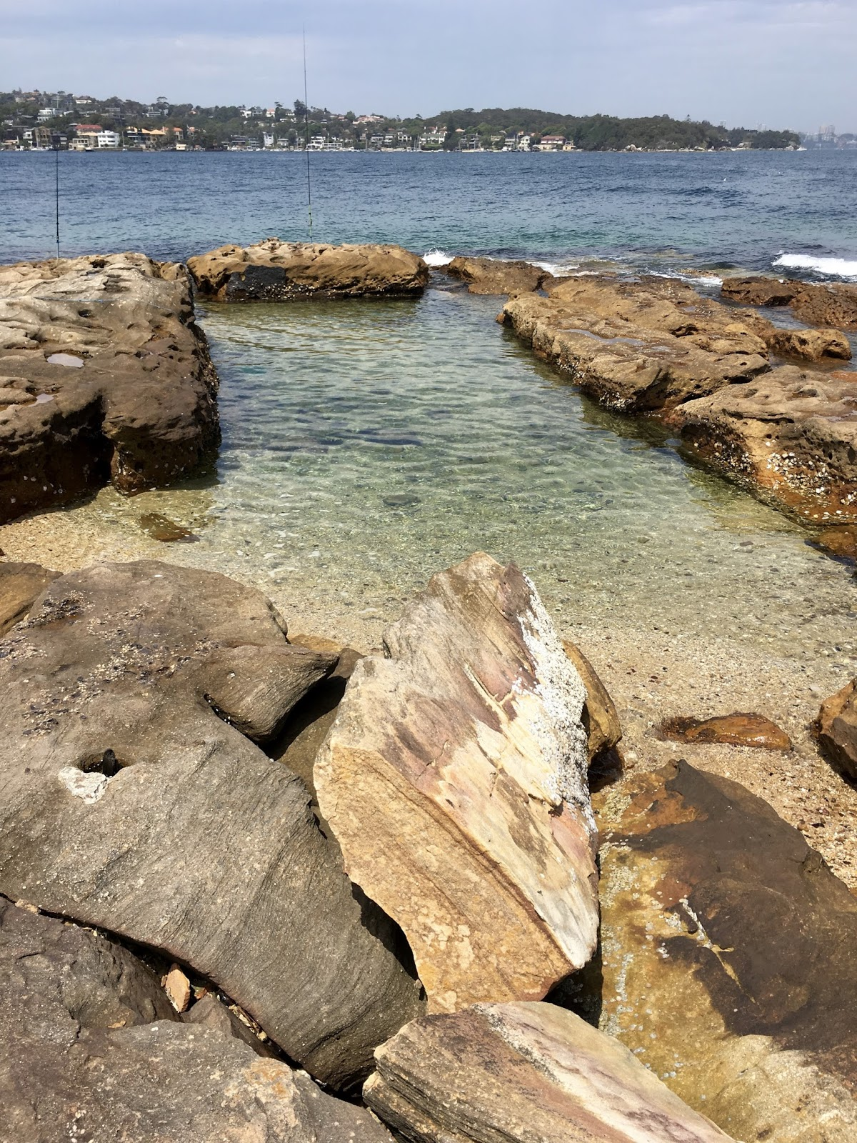 This Was The Destination We Had In Mind A 15 Metre Rock Pool At Green Point Between Watsons Bay And Camp Cove Looking Towards City