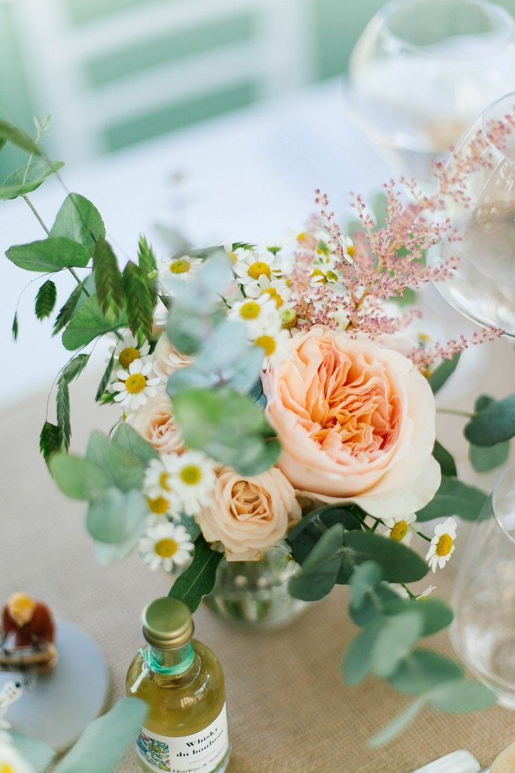 Lyon wedding florist, french wedding florist, Rose austin