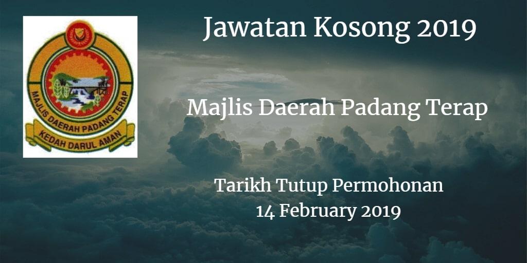 Jawatan Kosong MDPT 14 February 2019