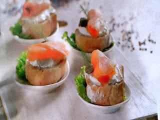 Gambar Resep Canape Salmon Asap