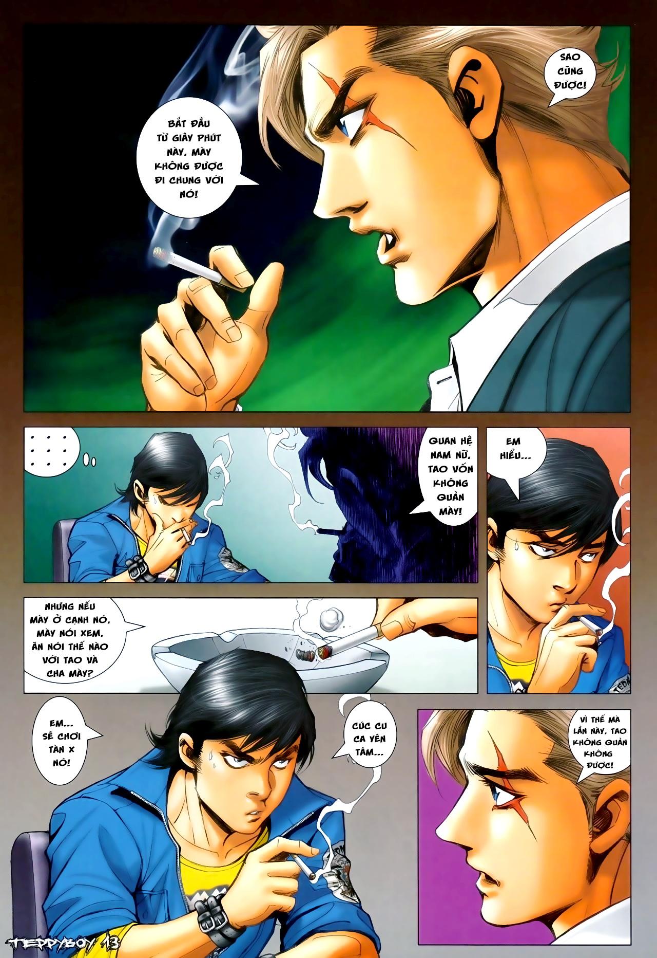 Người Trong Giang Hồ - Chapter 1295: Yêu không được Buông không xong - Pic 10