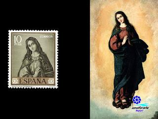 Francisco de Zurbarán - Inmaculada