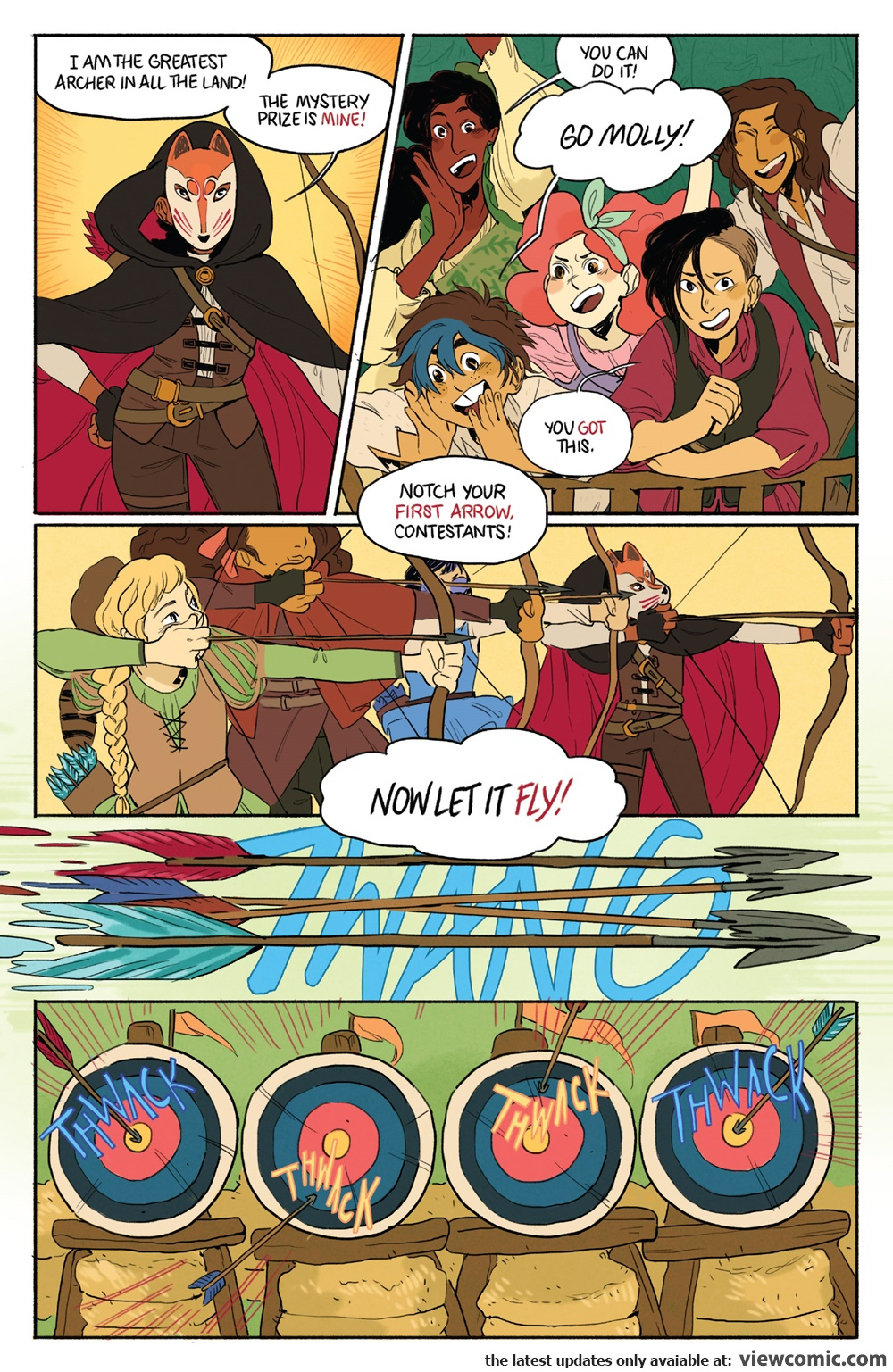 Lumberjanes Faire and Square Special 001 (2017) | Vietcomic.net reading comics online for free