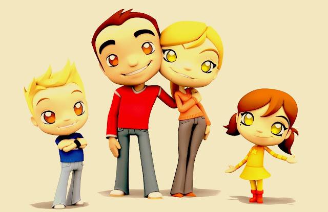 Small Family is happy Family