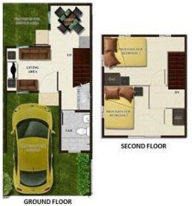 Affordable House Lot Bettina Townhouse At Bria Homes General Trias Cavite
