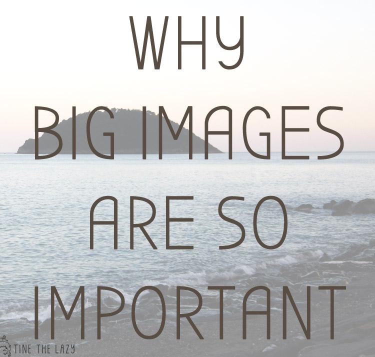 L'importanza delle immagini grandi
