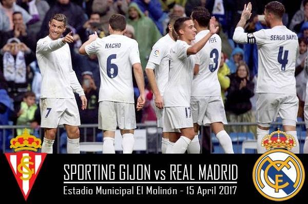 Sporting Gijon vs Real Madrid