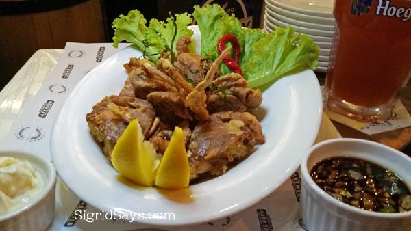 Brewery Gastropub Bacolod restaurant