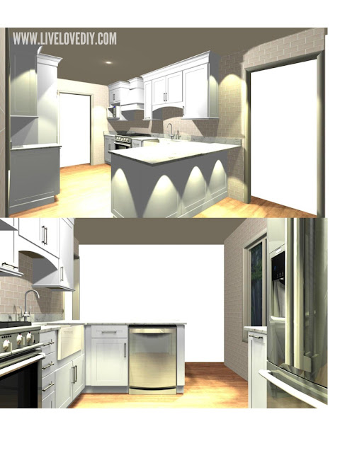 kitchen makeover layout tips