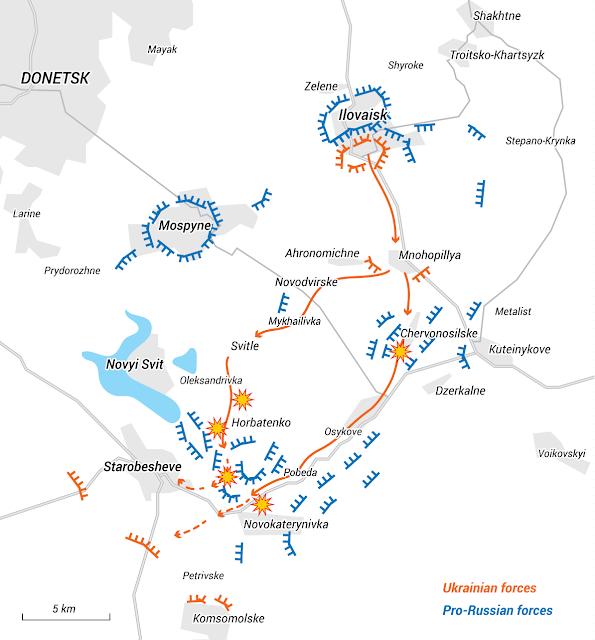 H μάχη του Ilovaisk