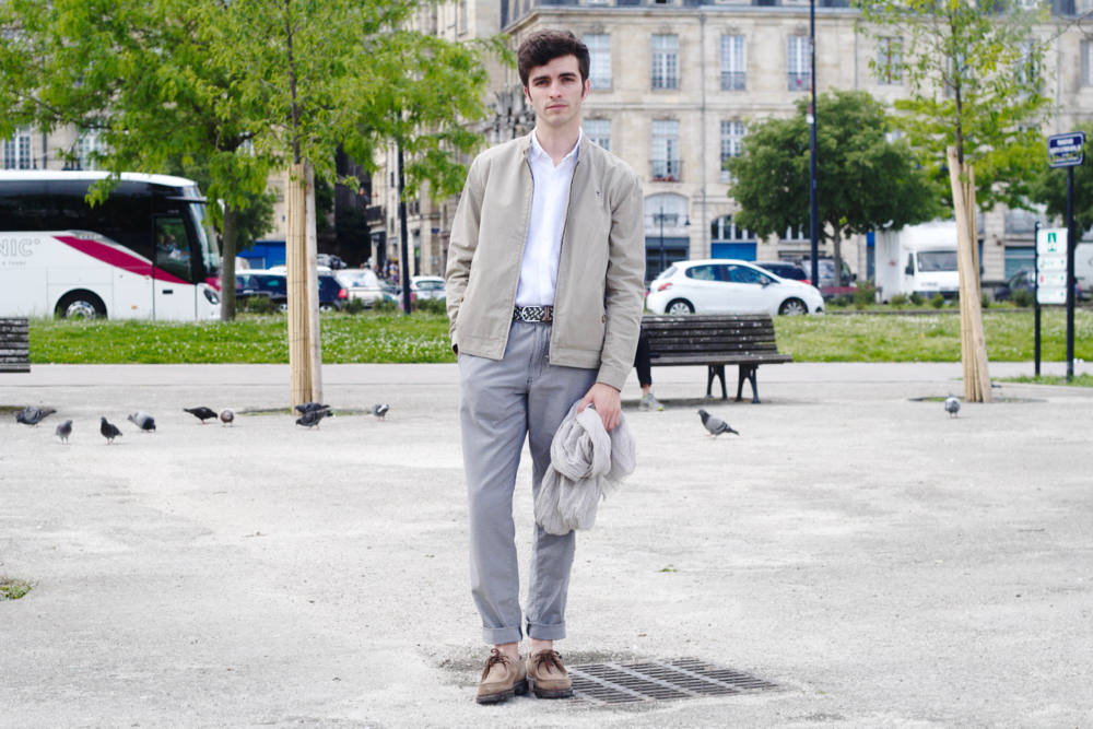 BLOG_MODE_HOMME_STYLE_MASCULIN_CASUAL-CHIC-MENSWEAR_edwardson-lunettes-somewhere-paris-chemise-en-lin-blanche-bordeaux-paris-france - 6