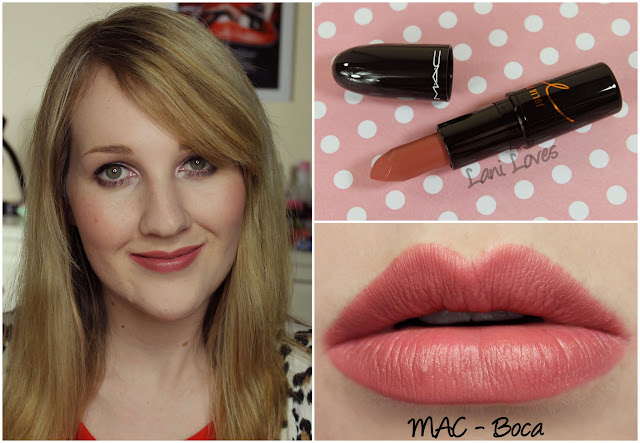 MAC Boca Lipstick swatch