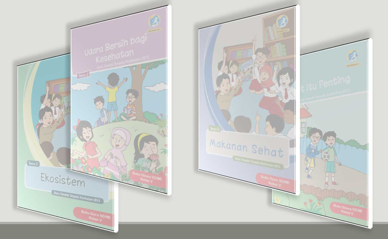 Download Buku Tematik Kelas 5 SD MI Semester 1 Untuk Guru dan Siswa