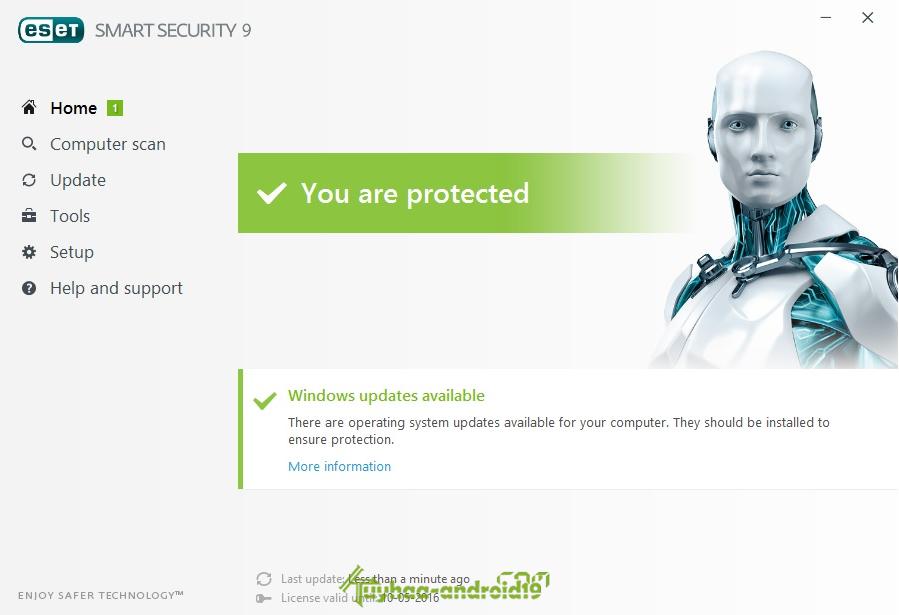 ESET NOD32 Antivirus & Smart Security 9.0.318 (x86/x64)