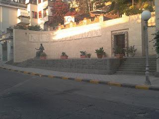 The Cilea Mausoleum in Palmi