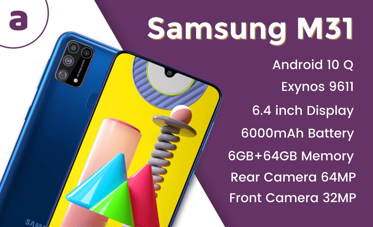 Samsung Galaxy M31 Features