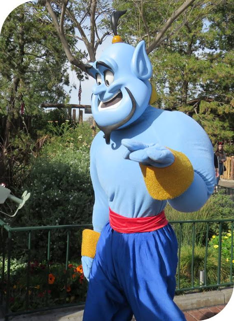 Why Disneyland is Better Now Than It Was When I Was a Kid - Genie from Aladdin