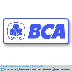 Lowongan Kerja Resmi Bank BCA 2017 lulusan Baru
