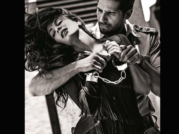 Jacqueline Fernandez and Akshay Kumarz On The Vogue Cover