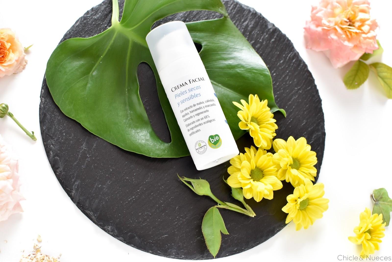 Ábida Cosmética Natural: Crema facial Piel seca y sensible