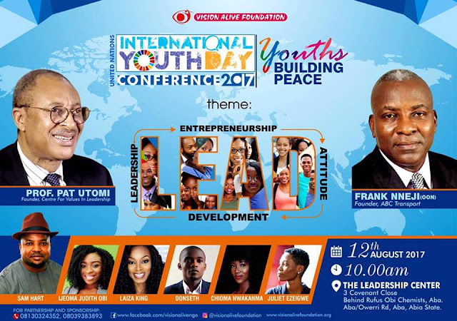 Vision Alive Foundation makes the U.N. International Youth Day