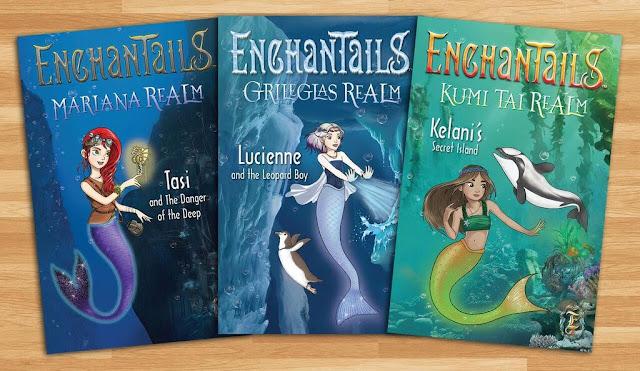 Enchantails Mermaid Book Set Holiday Giveaway 12/15 @enchantails