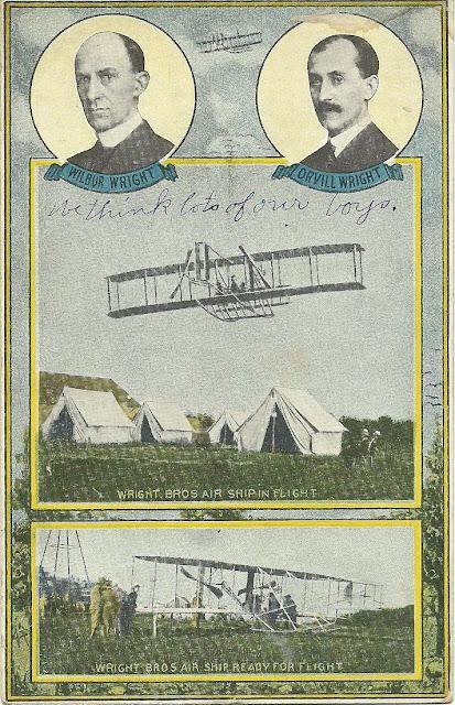 Eyewitness account of September 22, 1910 Wright flight over Dayton.