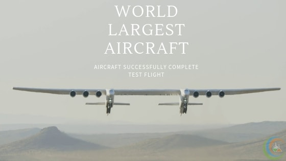 Roc World largest Aircraft Successfully Completes Her Test Flight