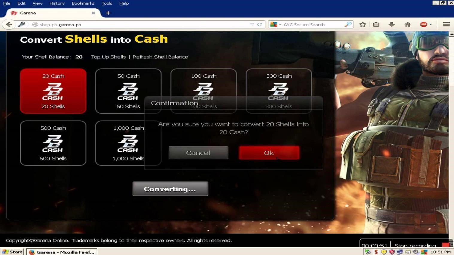 point blank garena cheat cash