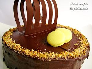 Gâteau aux trois chocolats pour la fête des pères