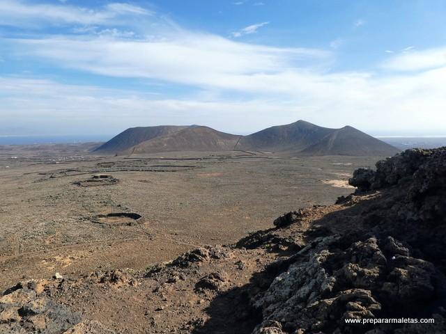 subida a volcán en Fuerteventura