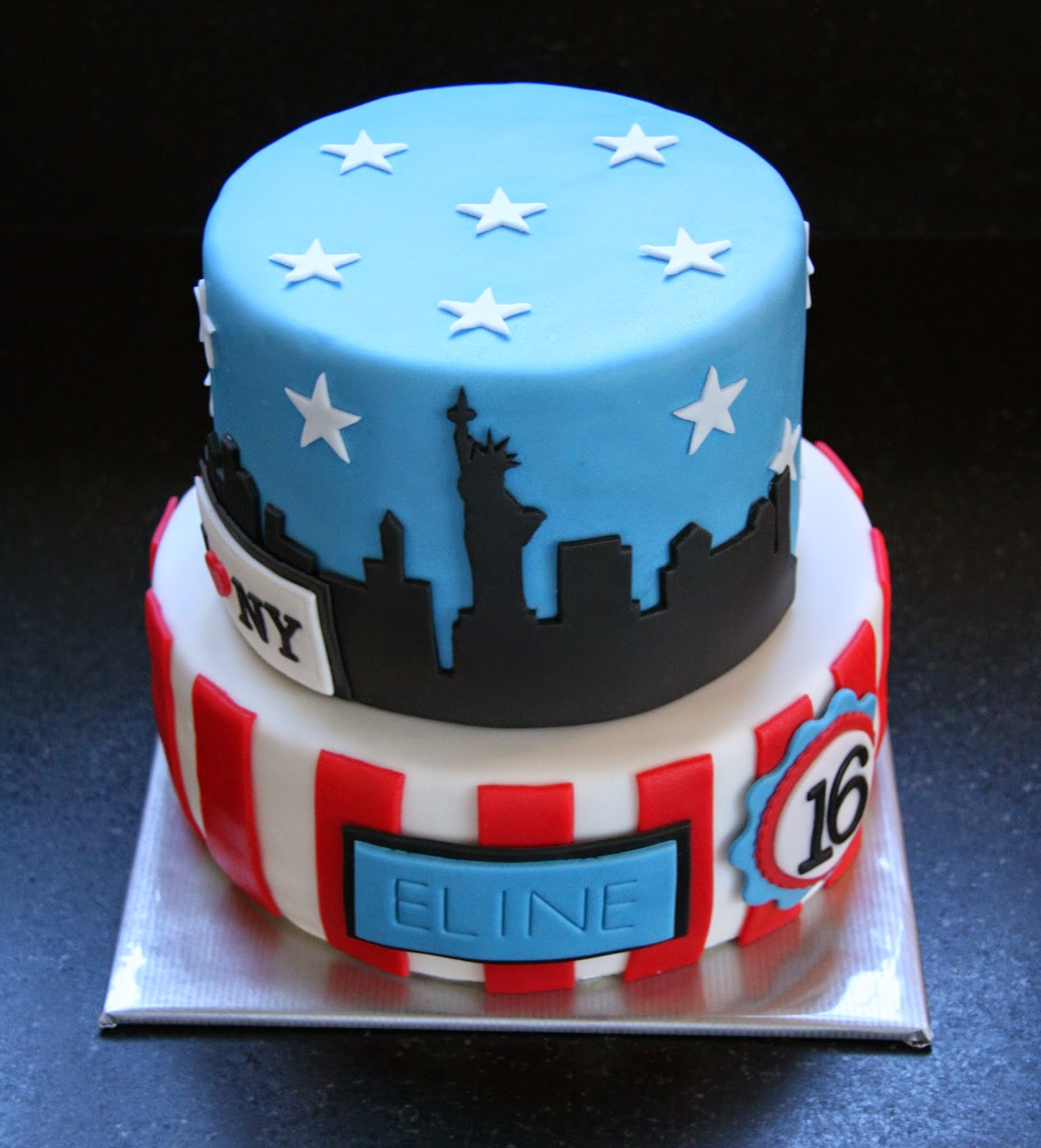 taart new york Cressida Bakt!: New York Cake! taart new york