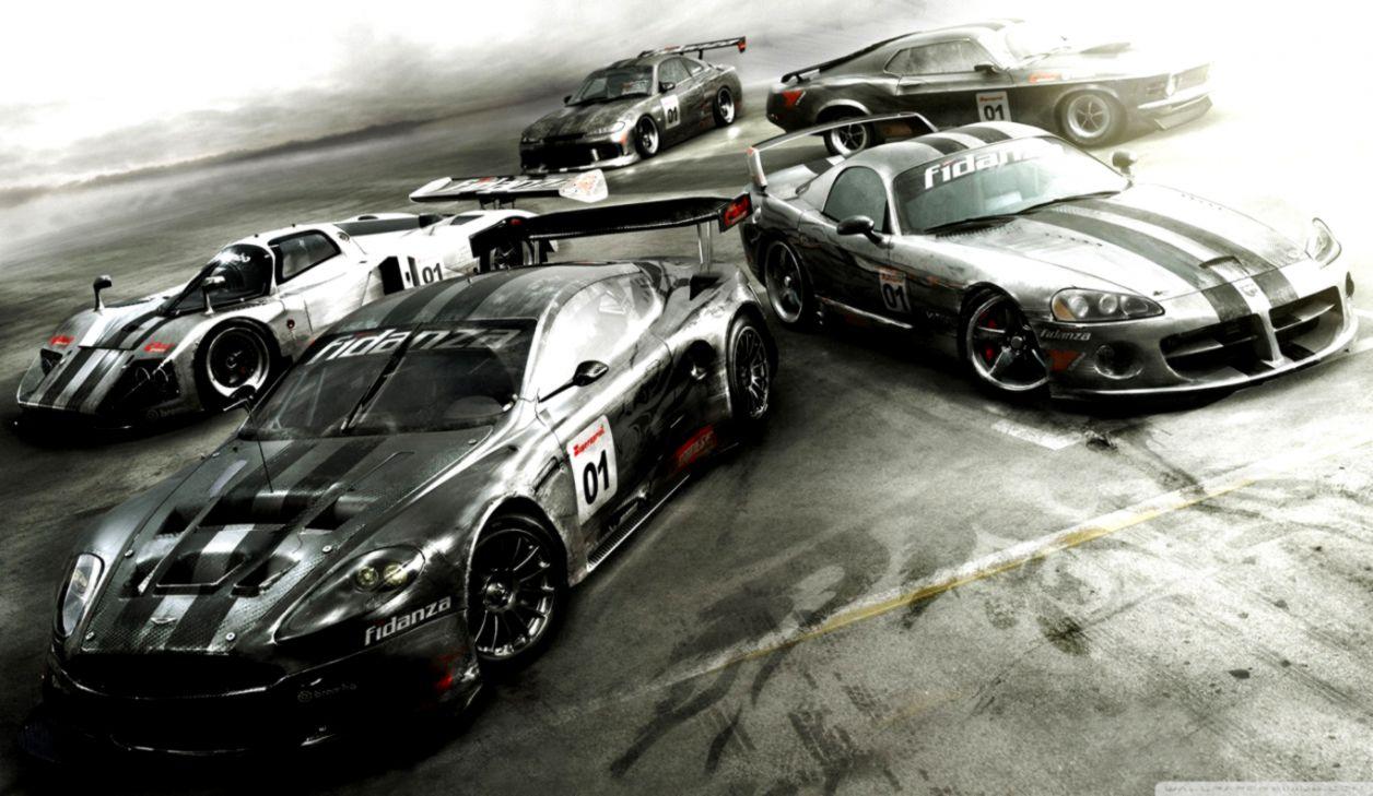 Race Driver Grid Game Wallpaper Widescreen | Carik Wallpapers