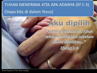 Sebelum Anda Memilih Tuhan, Dia Telah Memilih Anda