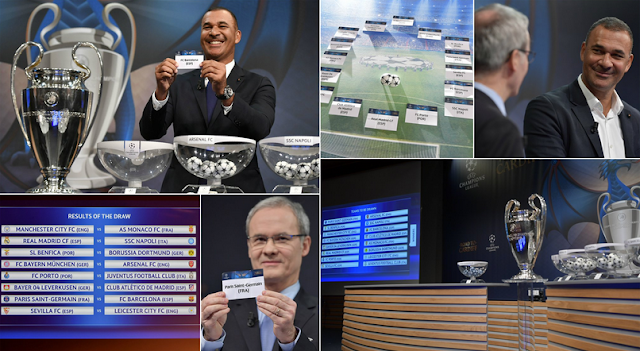 New Update! Jadwal dan Hasil Draw Babak 16 Besar Liga Champions 2016