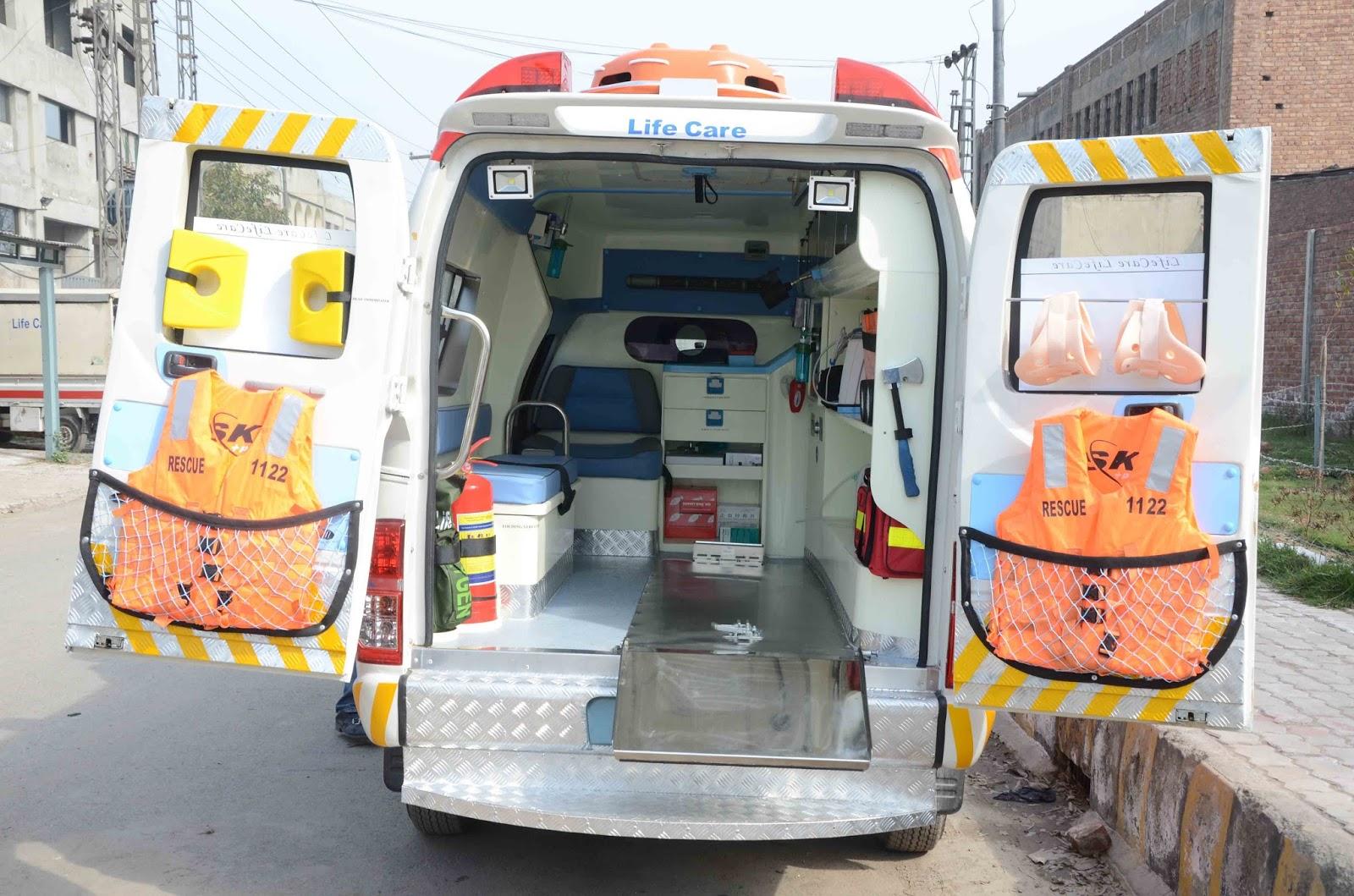 Ahmad Medix (Life Care): Ambulance UAE