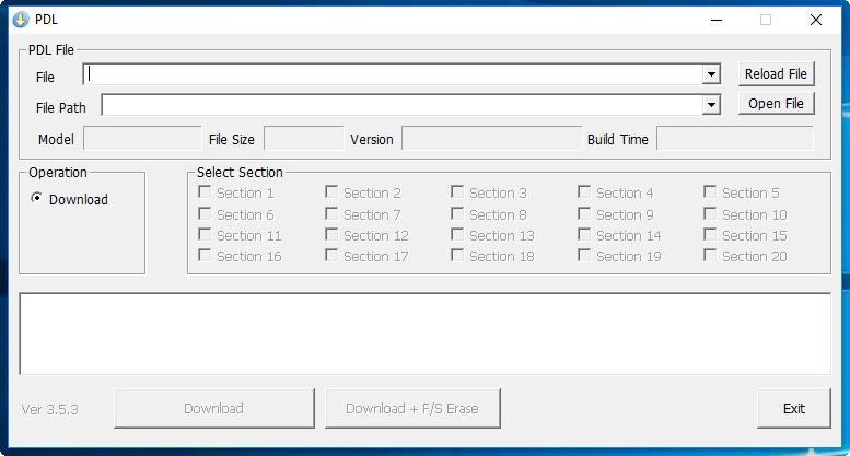 Sky vega PDL flash tool fix