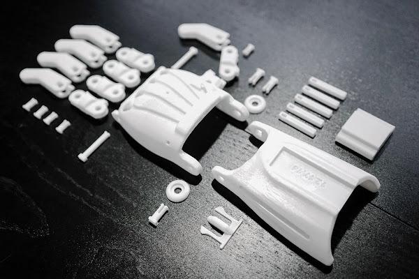 義肢零件打樣。照片來源:ATOM。