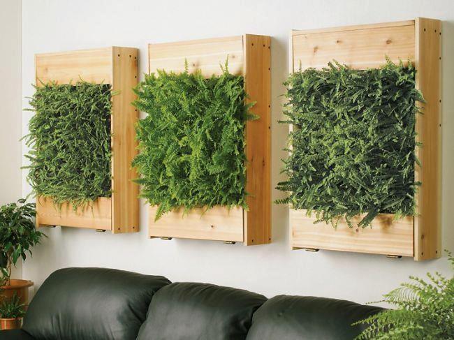 Moda customizada fant stico jeito de usar pallets for Dekorative zimmerpflanzen